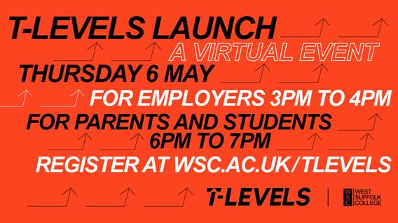 Invitation to T Level Launch